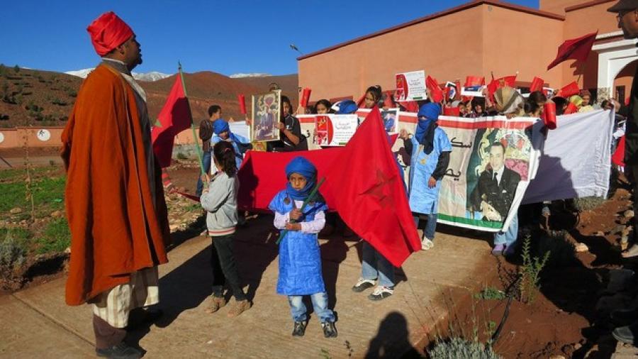 المدرسة الجماعاتية اغرم نوكدال تحتفل ب الذكرى 39 للمسيرة الخضراء