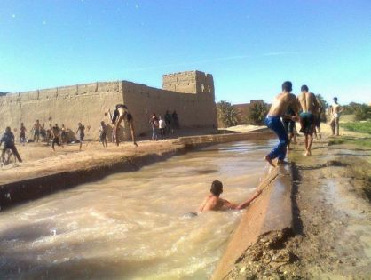 مصرع طفل غرقا ببركة مائية بدوار تاغيا نلمشان بالجماعة الترابية تغزوت نايت عطا