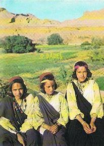 نساء من واحة دادس تعود لثمانينات القرن الماضي