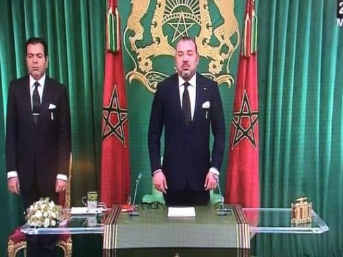 الملك يشن هجوما كاسحا على الجزائر والبوليزاريو من قلب الصحراء + فيديو