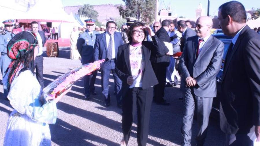 تازناخت : افتتاح مهرجان الزربية الواوزكيتية في دورته الرابعة