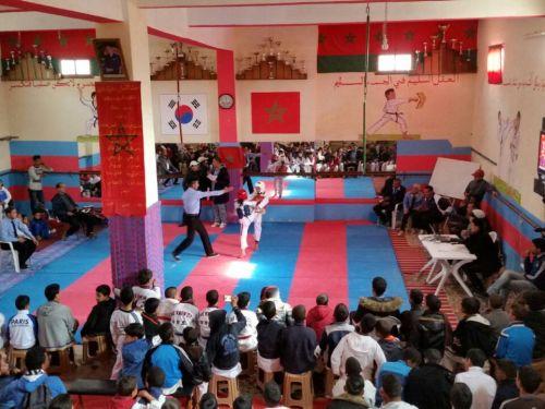 تنغير : تنظيم دوري جهوي في رياضة التايكوندو لفائدة الفتيات و الفتيان