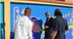 ثانوية عبد الكريم الخطابي التأهيلية تنزل مضامين المشروع المندمج رقم 5 عبر ورش تزييني لأسوار المؤسسة