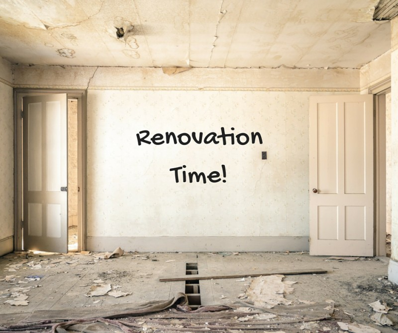 Renovation Time!