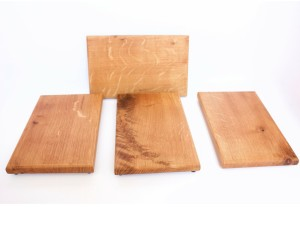 Four Oak Cutting Boards