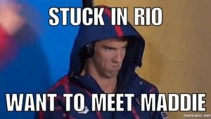 Michael Phelps Face