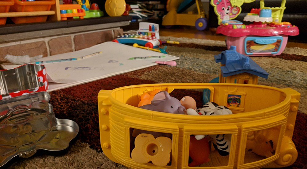 From Bachelor Pad to Toddler Pad