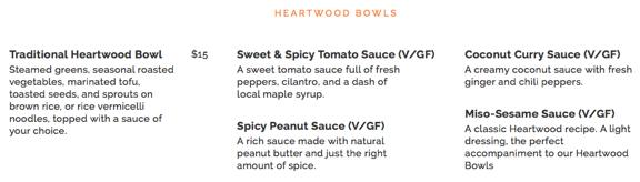 heartwood bowls