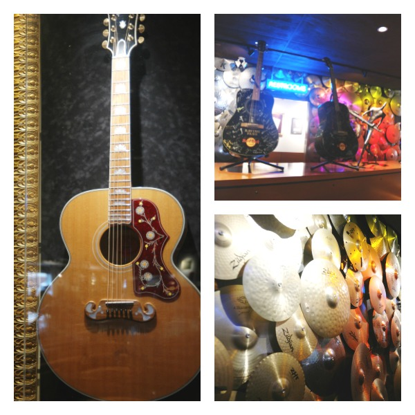The Hard Rock Cafe will let you experience music and food in a whole new way!
