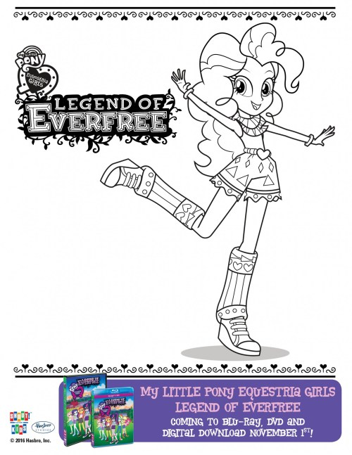 My little pony equestria girls legend of everfree for My little pony legend of everfree coloring pages