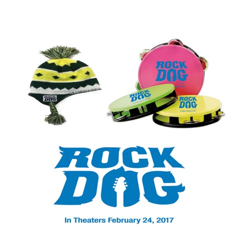 Get ready for ?Rock Dog - in theaters February 24!