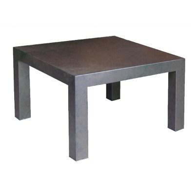 mesa de centro neo 8 de centro con plancha y patina de hierro