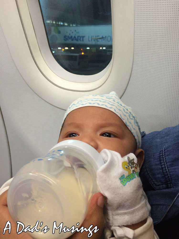 Gab's First Flight