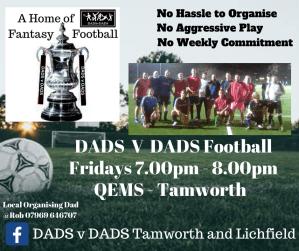 DADS Football Tamworth