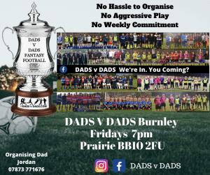 Play Football Burnley Fridays 7pm