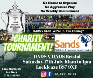 Play Football Bristol Sands Charity Game