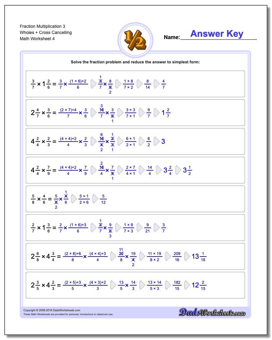 Full Fraction Multiplication