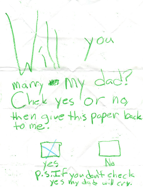 Will You Marry My Dad?