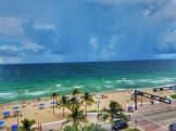 Another Ocean View From Pool Deck - Hilton Ft. Lauderdale Beach Resort