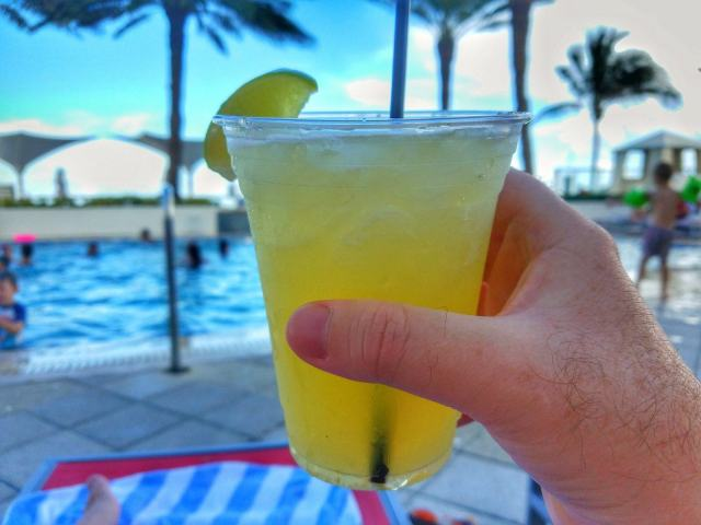 Margaritas by the Pool - Hilton Ft. Lauderdale Beach Resort