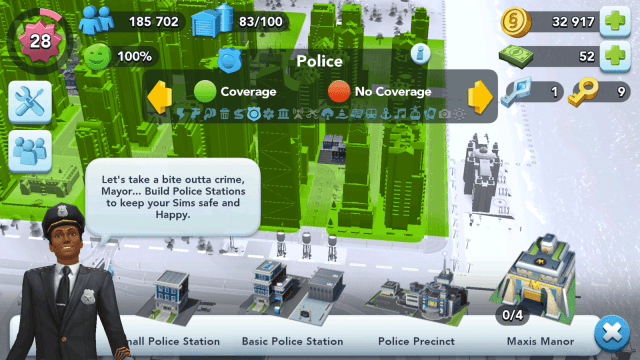 SimCity BuildIt Police Stations