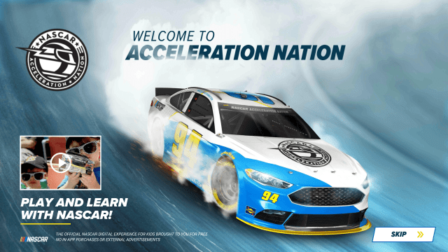 Acceleration Nation - NASCAR App