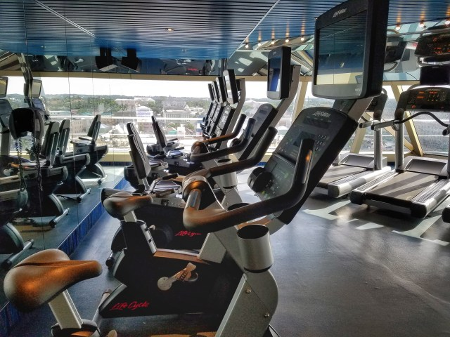 Carnival Liberty - The Gym