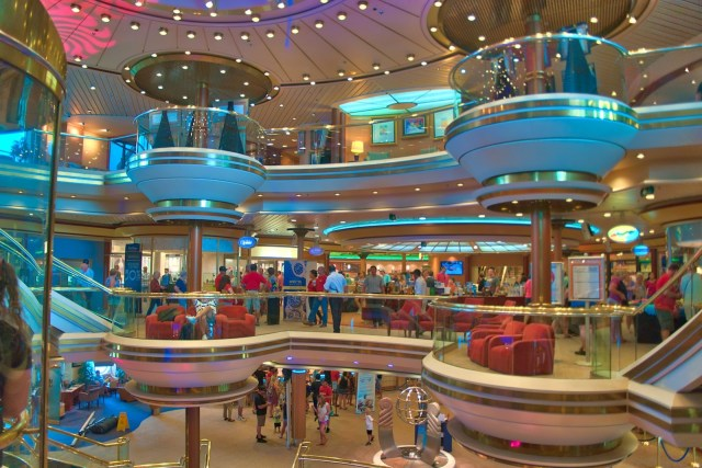 RCI Majesty of the Seas Review - Lobby View