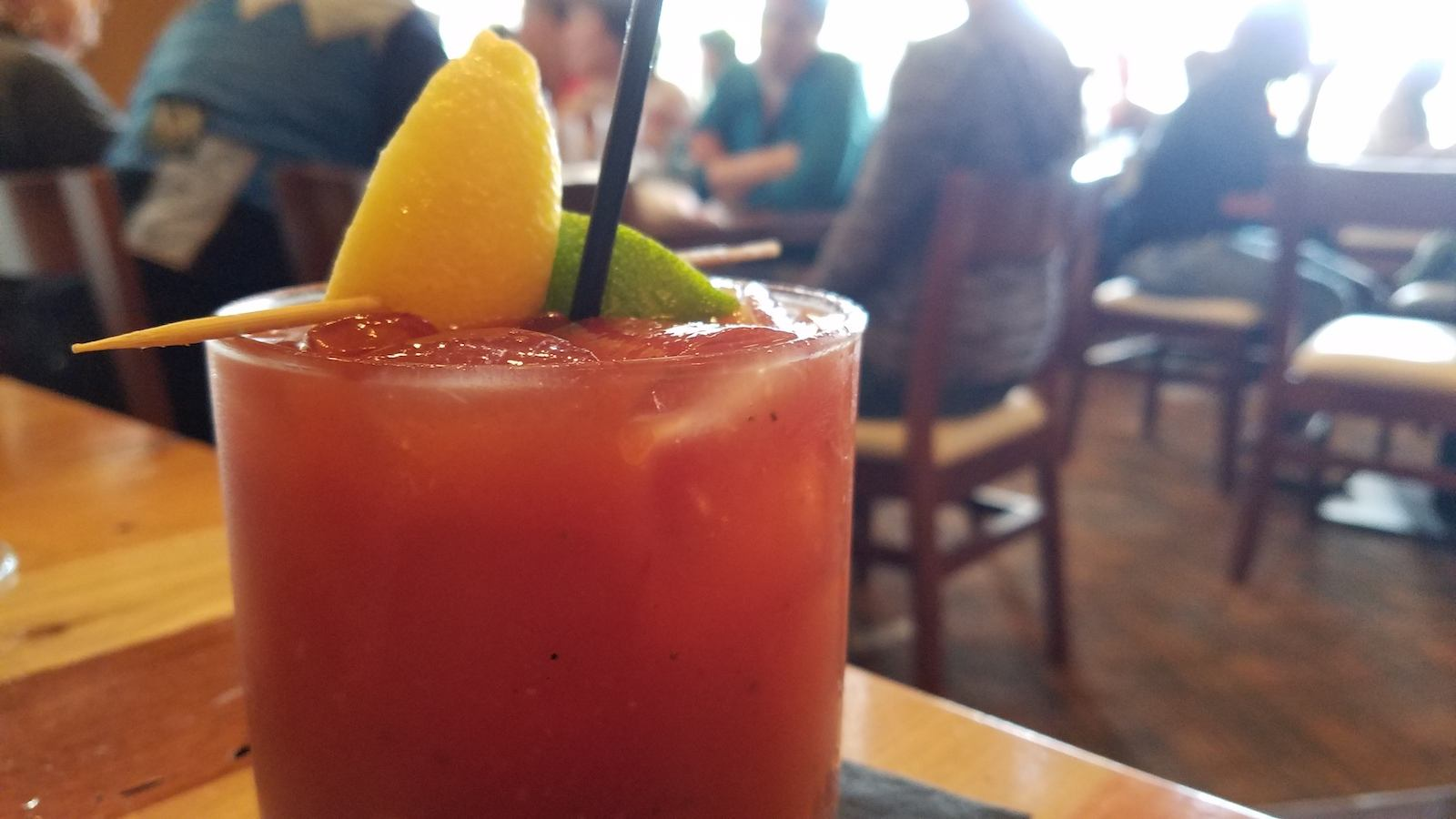 Soco Thornton Park Review - Bloody Mary Beverage