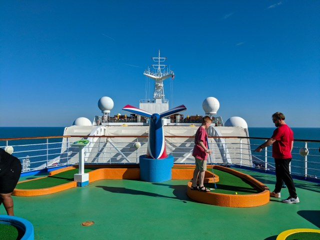 SkyGreens competition on board the Carnival Sunshine Ship
