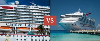 Carnival Liberty vs Sunshine Review