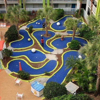 Nickelodeon Hotel Orlando - Mini Golf