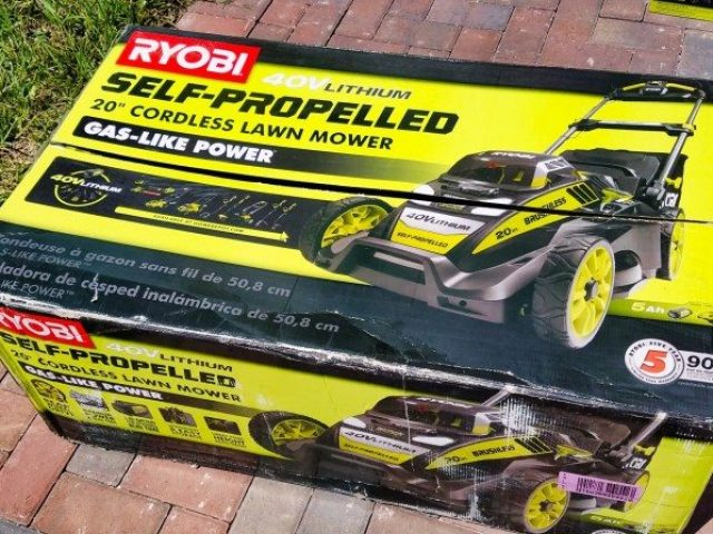 Ryobi 40v Lithium Self-Propelled 20 Inch Cordless Lawn Mower Review