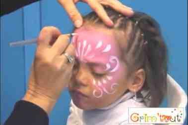 Jak pomalować twarz księżniczki – tutorial farbami Grim'Tout