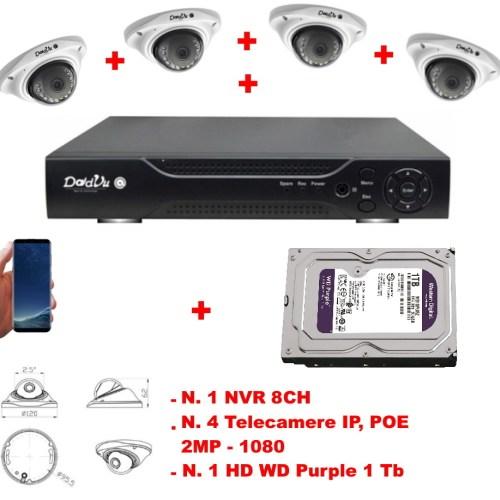 Kit VideoSorveglianza Pro Wired (Filare)