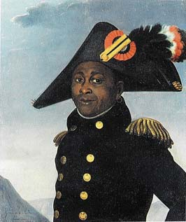 Portrait of Toussaint L'Ouverture by Alexandre Francois Girardin: recently discovered and possibly the only historically accurate painting of the Haitian leader.
