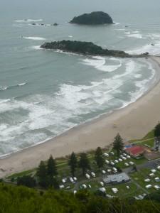 Le camper et les surfers