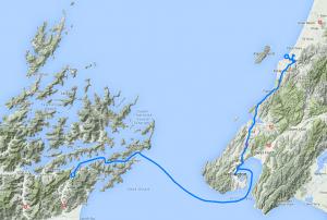 Day 8 - de l'Ile du Nord à l'Ile du Sud