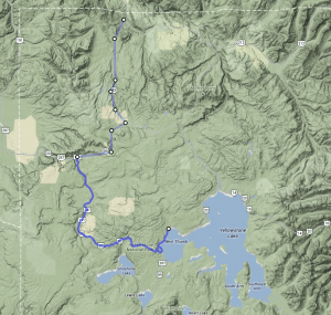 Mammoth to Lake Village