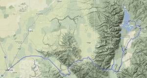 Colter Bay to Idaho Falls