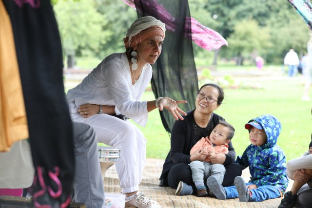 Saturday 05 August 2017, LBTH - Alia Alzougbi of East at Great Day Out at Victoria Park - Photo, Rehan Jamil