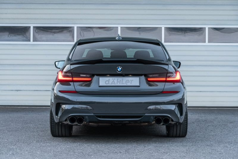 performance exhaust for bmw 3 series g20 sedan g21 touring