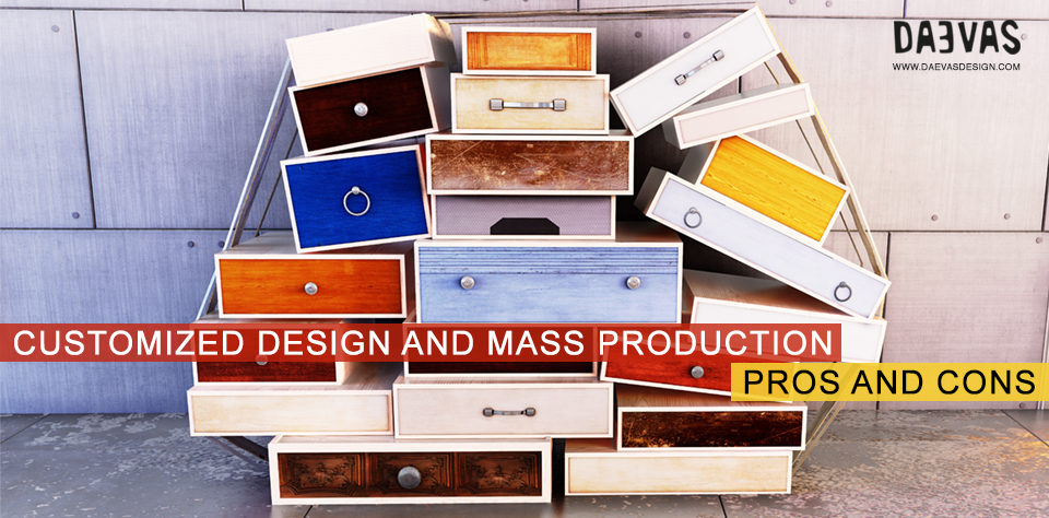 Customized Design And Mass Production | Pros And Cons Image