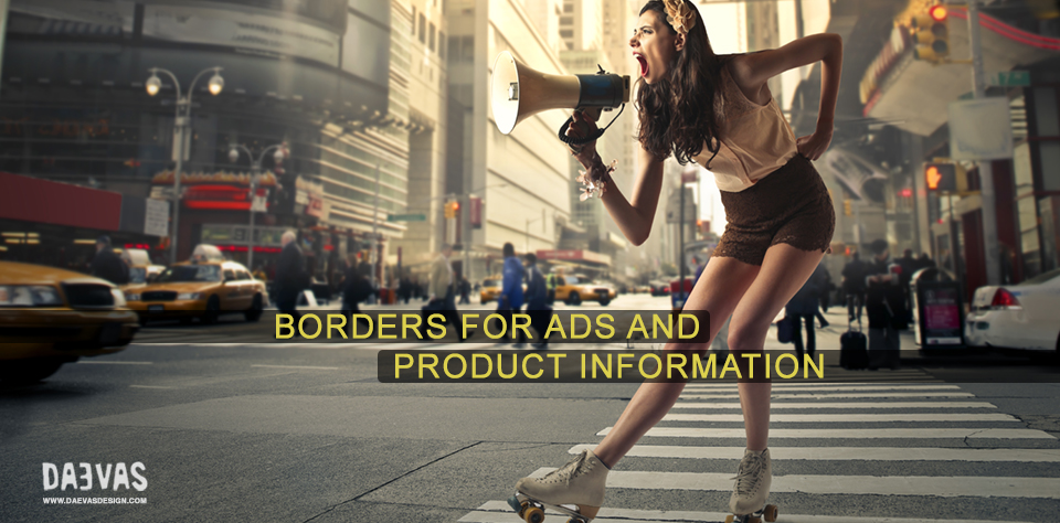 Borders For Ads And Product Information Image