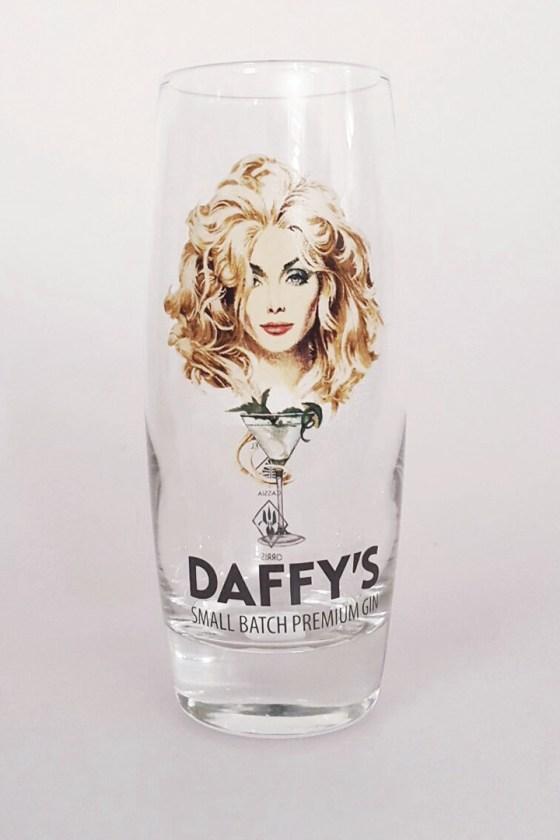 Daffy's gin hi-ball glass.