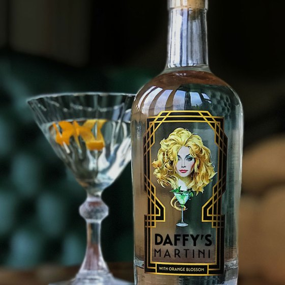 Daffy's Martini bottle