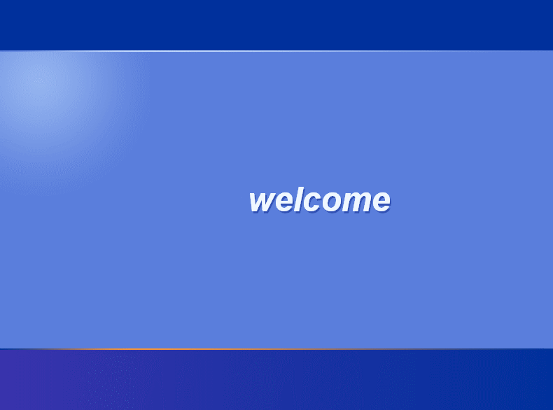 "Windows XP ""Welcome"" screen font?"