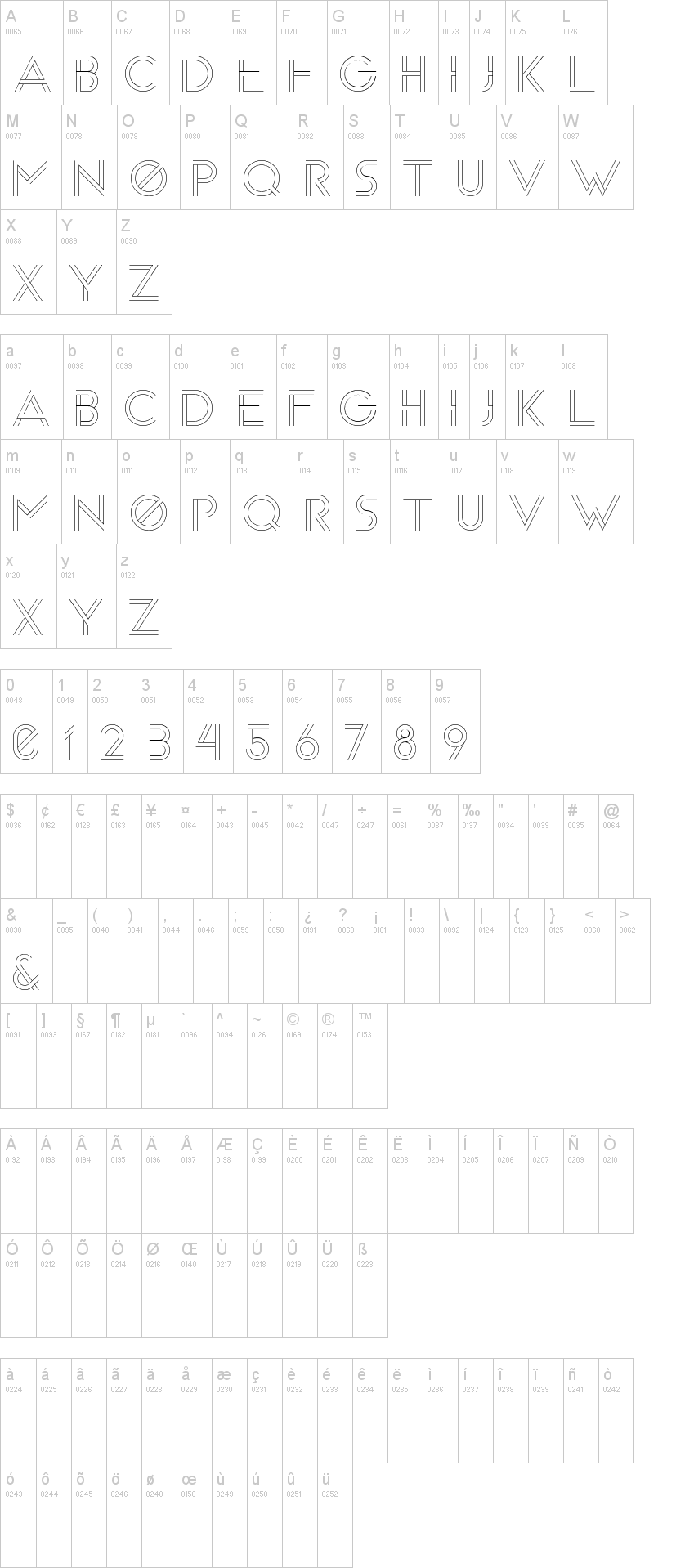 Areng Typeface