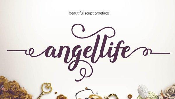 Angellife Font Free