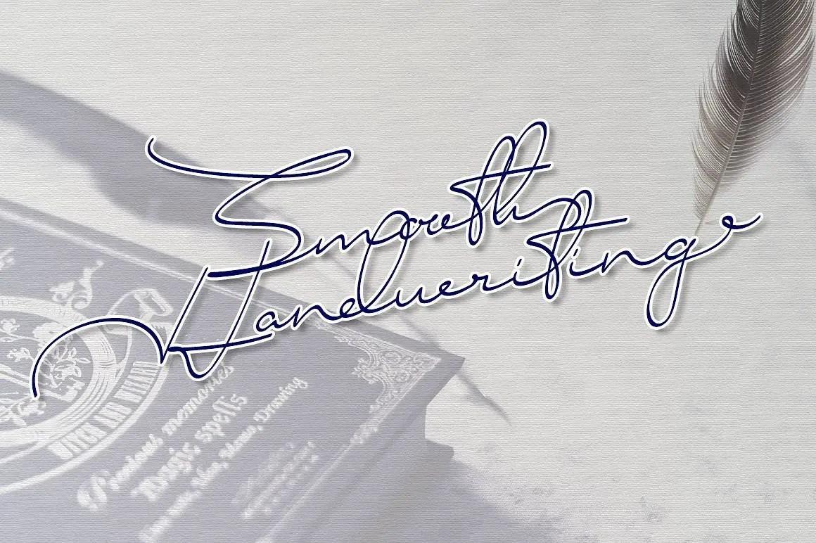 smooth-handwriting-typeface